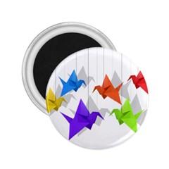 Paper cranes 2.25  Magnets