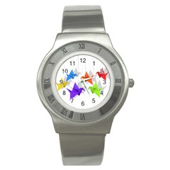 Paper cranes Stainless Steel Watch