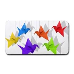 Paper cranes Medium Bar Mats