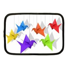 Paper cranes Netbook Case (Medium)