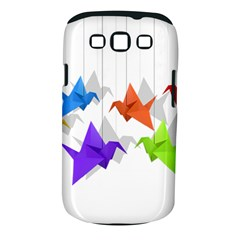 Paper cranes Samsung Galaxy S III Classic Hardshell Case (PC+Silicone)