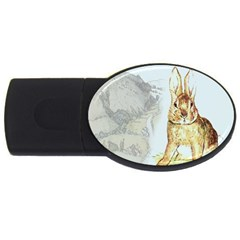 Rabbit  USB Flash Drive Oval (2 GB)