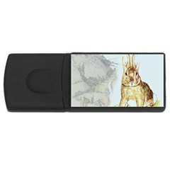 Rabbit  USB Flash Drive Rectangular (2 GB)