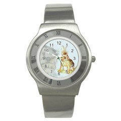 Rabbit  Stainless Steel Watch