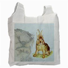 Rabbit  Recycle Bag (Two Side)