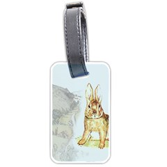 Rabbit  Luggage Tags (Two Sides)