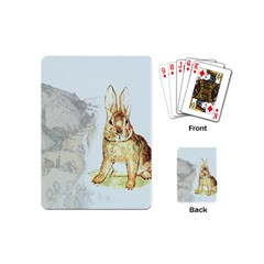 Rabbit  Playing Cards (Mini)