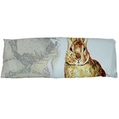 Rabbit  Body Pillow Case (Dakimakura)