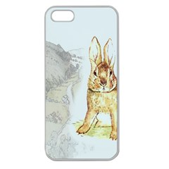 Rabbit  Apple Seamless iPhone 5 Case (Clear)
