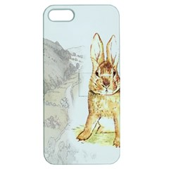 Rabbit  Apple iPhone 5 Hardshell Case with Stand