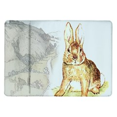 Rabbit  Samsung Galaxy Tab 10.1  P7500 Flip Case