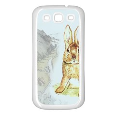 Rabbit  Samsung Galaxy S3 Back Case (White)
