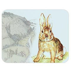Rabbit  Double Sided Flano Blanket (Medium)
