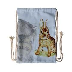 Rabbit  Drawstring Bag (Small)