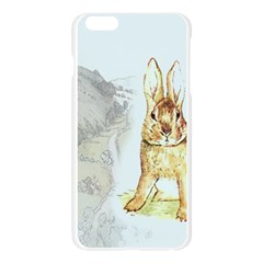 Rabbit  Apple Seamless iPhone 6 Plus/6S Plus Case (Transparent)