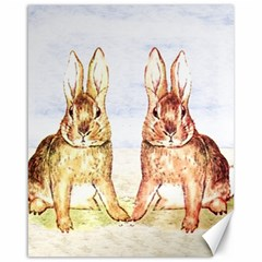 Rabbits  Canvas 16  x 20