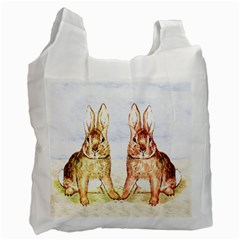Rabbits  Recycle Bag (One Side)