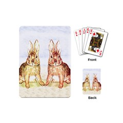 Rabbits  Playing Cards (Mini)