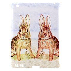 Rabbits  Apple iPad 3/4 Hardshell Case (Compatible with Smart Cover)