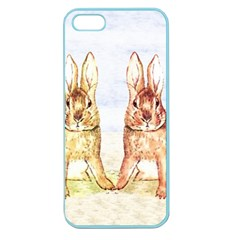 Rabbits  Apple Seamless iPhone 5 Case (Color)