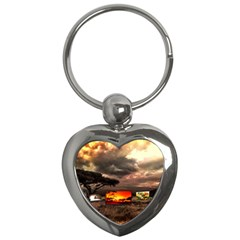Africa Key Chains (Heart)