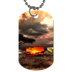 Africa Dog Tag (One Side)