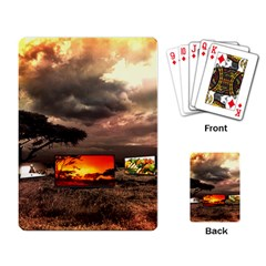 Africa Playing Card