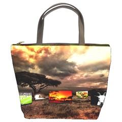 Africa Bucket Bags