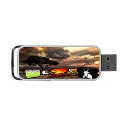 Africa Portable USB Flash (Two Sides)