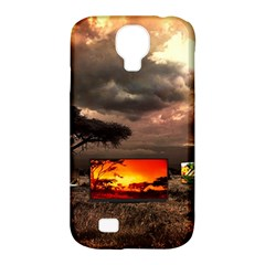 Africa Samsung Galaxy S4 Classic Hardshell Case (PC+Silicone)
