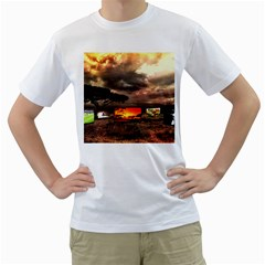 Africa Men s T-Shirt (White)