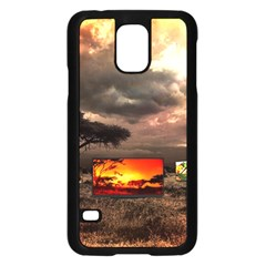 Africa Samsung Galaxy S5 Case (Black)