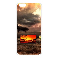 Africa Apple Seamless iPhone 6 Plus/6S Plus Case (Transparent)