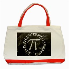 Pi Classic Tote Bag (Red)