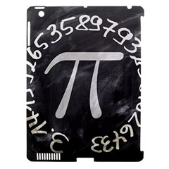 Pi Apple iPad 3/4 Hardshell Case (Compatible with Smart Cover)