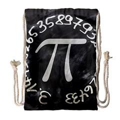 Pi Drawstring Bag (Large)