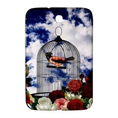 Vintage bird in the cage  Samsung Galaxy Note 8.0 N5100 Hardshell Case
