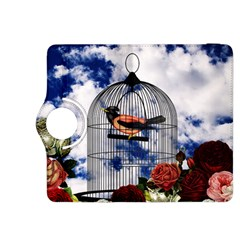 Vintage bird in the cage  Kindle Fire HDX 8.9  Flip 360 Case