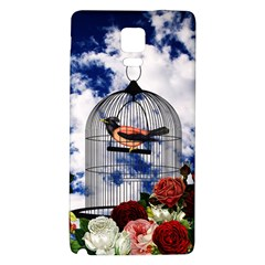 Vintage Bird In The Cage  Galaxy Note 4 Back Case