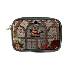 Vintage bird in the cage Coin Purse