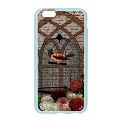 Vintage bird in the cage Apple Seamless iPhone 6/6S Case (Color)