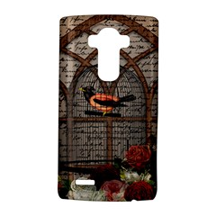 Vintage bird in the cage LG G4 Hardshell Case