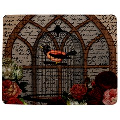 Vintage bird in the cage Jigsaw Puzzle Photo Stand (Rectangular)
