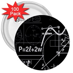 School board  3  Buttons (100 pack)