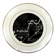 School board  Porcelain Plates