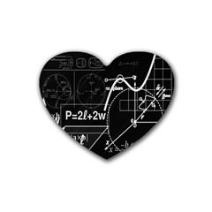 School board  Rubber Coaster (Heart)