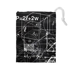 School board  Drawstring Pouches (Large)