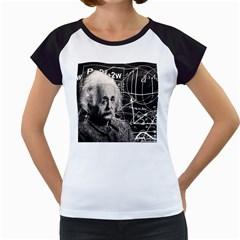 Albert Einstein Women s Cap Sleeve T