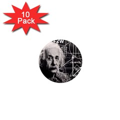 Albert Einstein 1  Mini Magnet (10 pack)