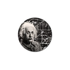 Albert Einstein Golf Ball Marker (4 Pack)